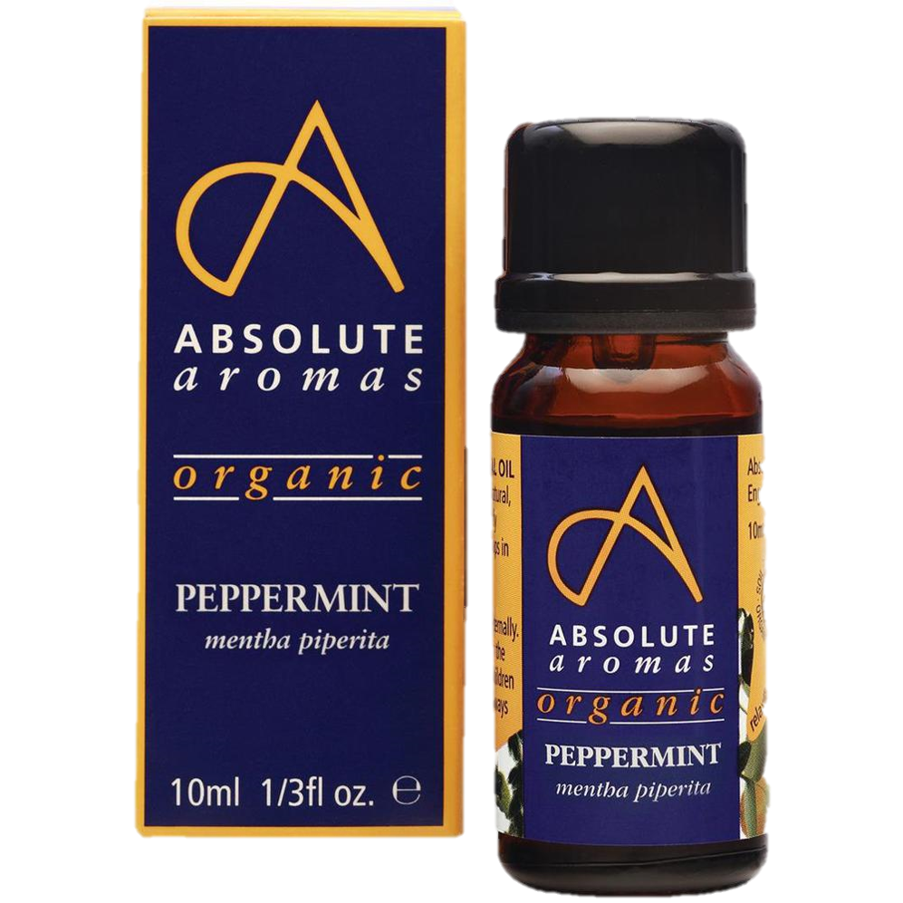 Absolute Aromas Organic Peppermint Essential Oil (10ml)