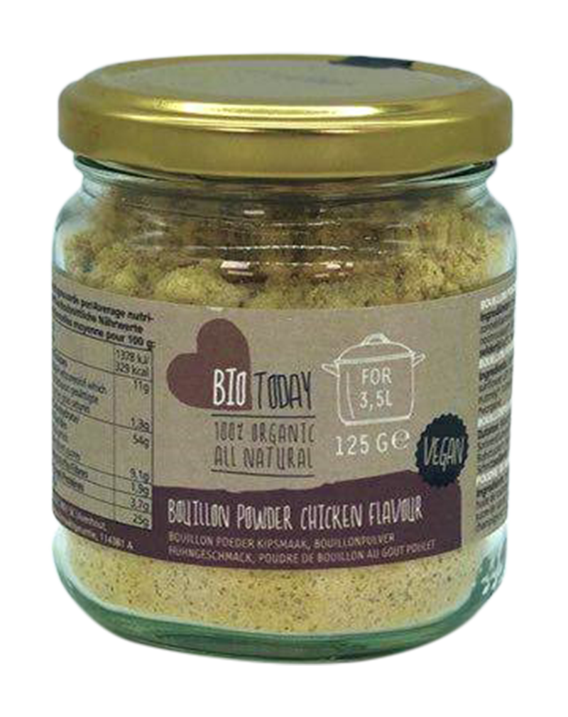 Bio Today Organic Bouillon Powder Chicken Flavor (125g)