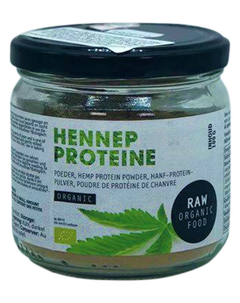 Raw Organic Food Hemp Protein 100g