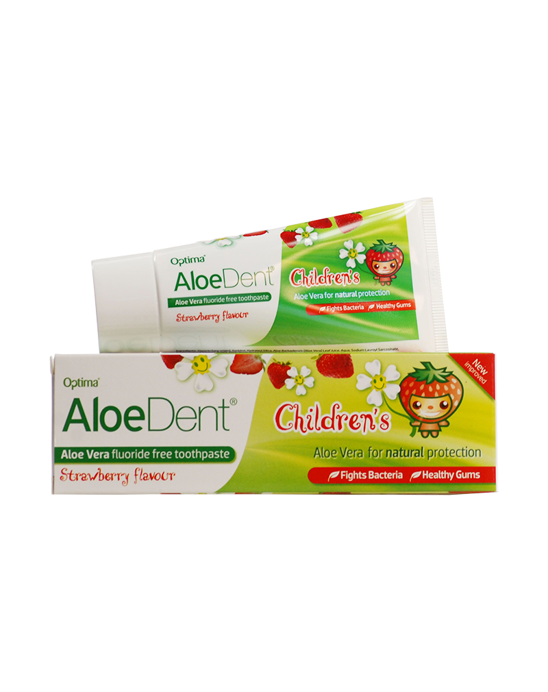 Optima Aloe Dent Children's  Toothpaste (50ml)
