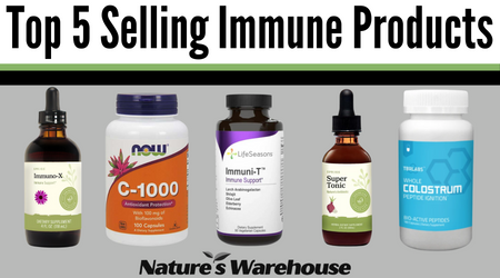 Top 5 Selling Immune Products