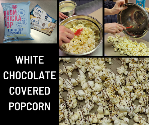 White Chocolate Covered Popcorn Recipe