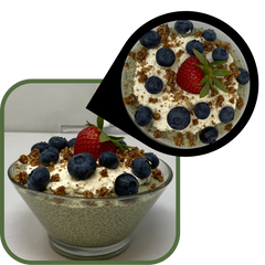 Match Latte Chia Seed Pudding