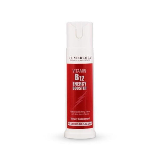 Vitamin B12 Energy Booster Spray - Raspberry Flavor, 32 servings