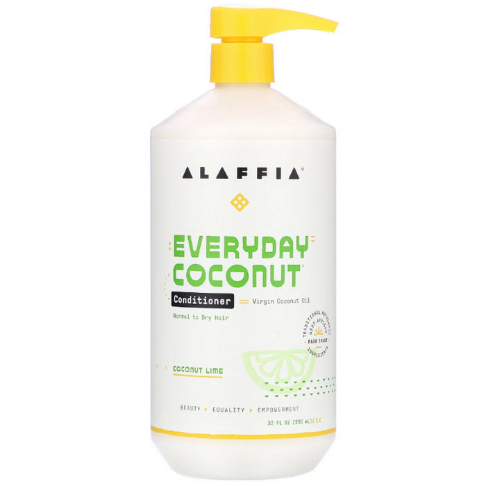 Coconut Conditioner, Coconut Lime, 32 oz