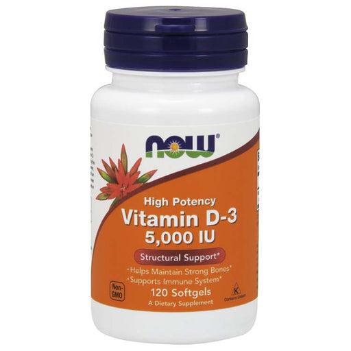 Vitamin D-3, 120 Softgels
