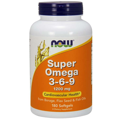 Super Omega 3-6-9, 180 Softgels