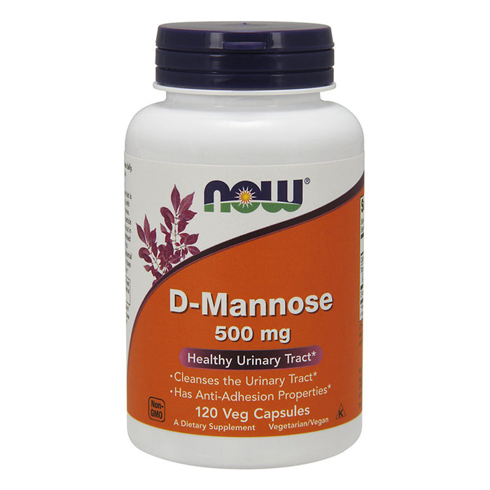 D-Mannose - 500 mg, 120 Capsules