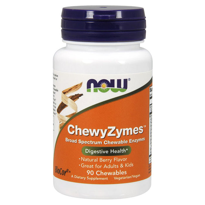 ChewyZymes - Berry Flavored, 90 Chewables