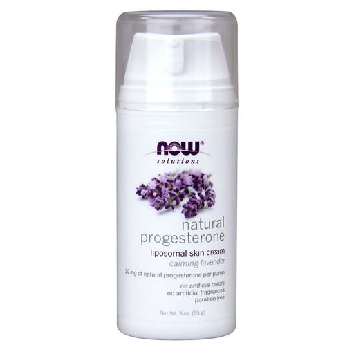 Natural Progesterone Liposomal Skin Cream with Lavender - 3 oz