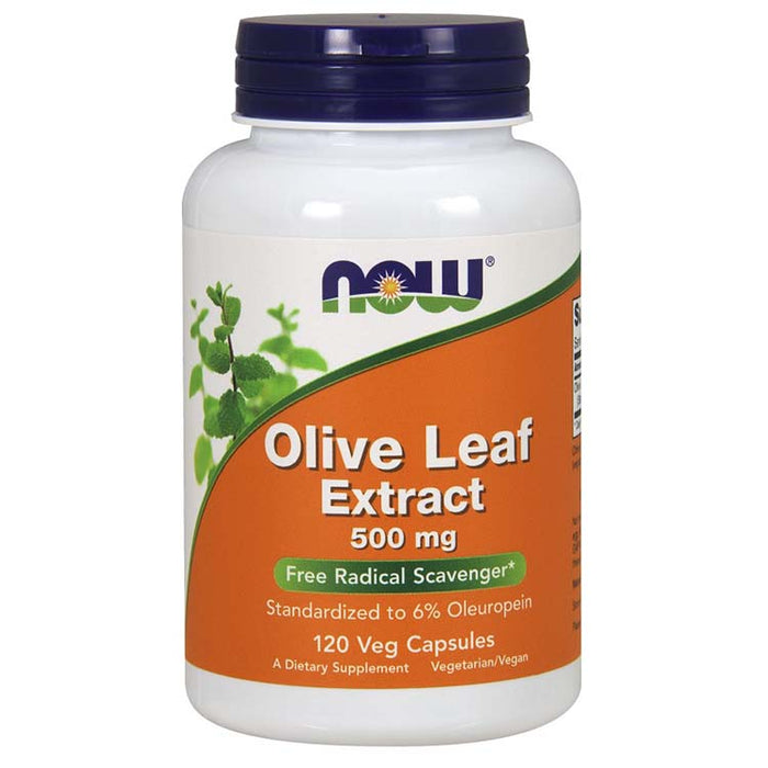 Olive Leaf Extract - 500 mg, Vegetarian, 120 Vcaps