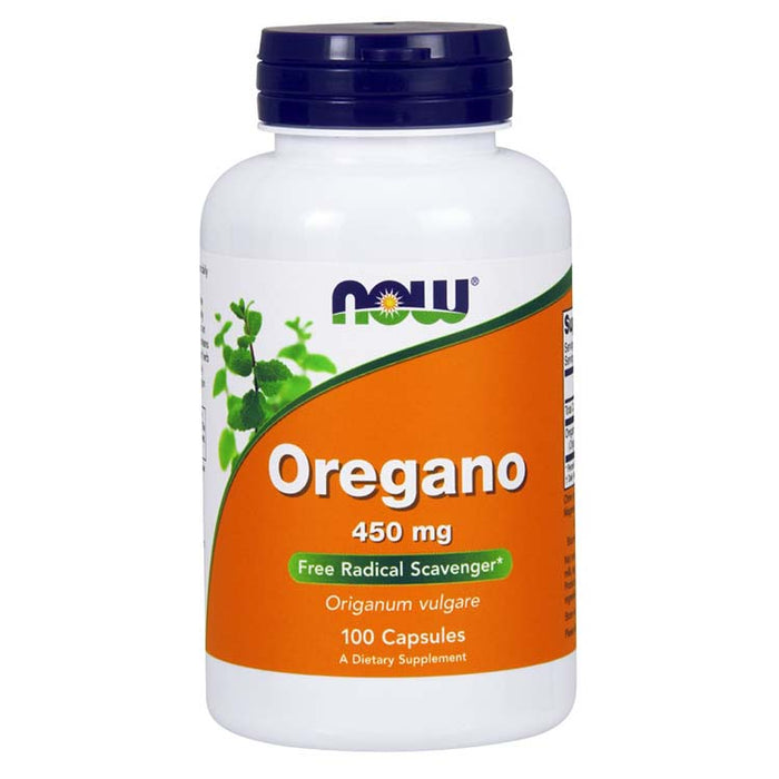 Oregano - 450 mg, 100 Capsules