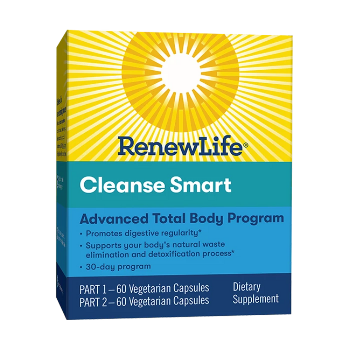 CleanseSmart - Advanced Total-Body Internal Cleanse, 30 Day
