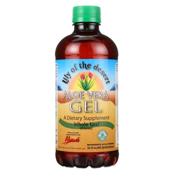 Aloe Vera Whole Leaf Gel, 32 oz