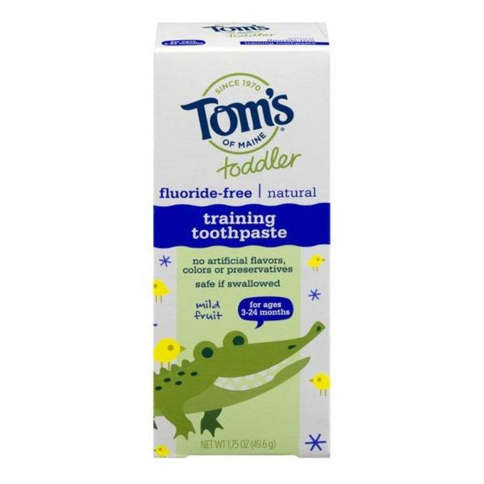 Toddler Training Toothpaste- Fruit flavored, 1.75