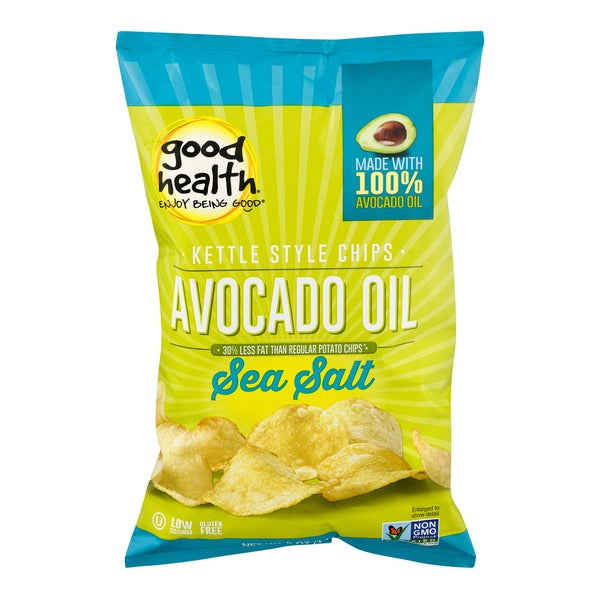 Avocado oil Chips- Sea Salt, 5 oz
