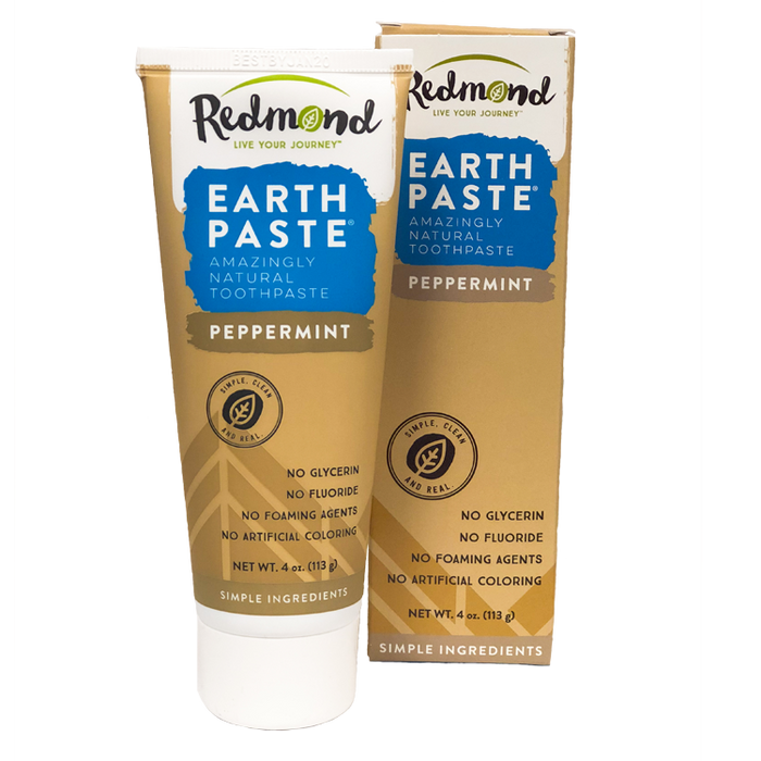 Earthpaste Toothpaste - Peppermint, 4oz