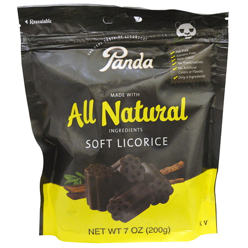 Panda Soft Licorice - Original, 7 oz.