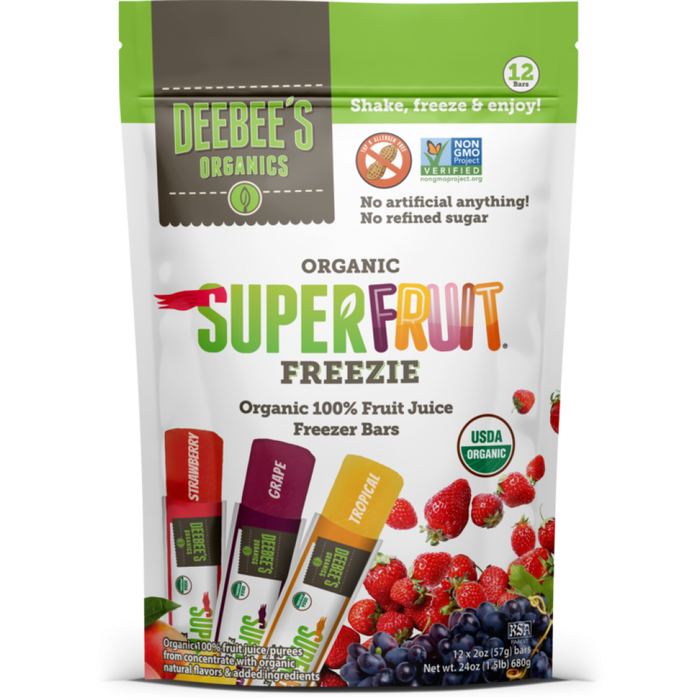 Super Fruit Freezie Pops, 12 ct