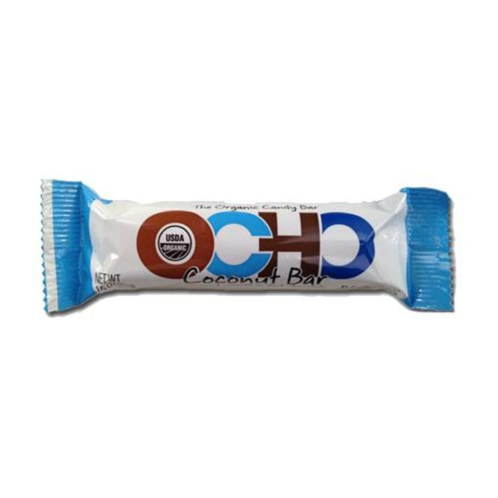 OCHO Coconut Bar - Coconut Covered in Dark Chocolate, 1.5 oz.