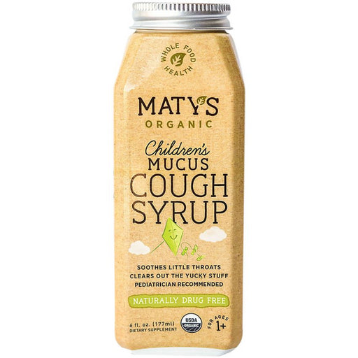 Childrens Mucus Cough Syrup, 6 oz