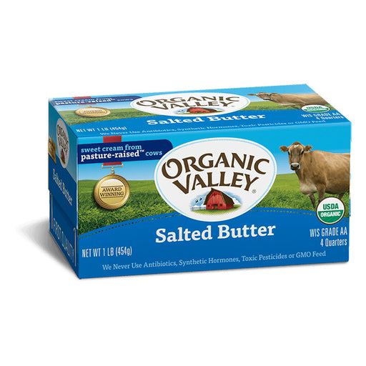 Organic Butter - Salted, 16 oz.