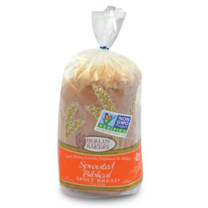 Biblical Spelt Bread - Sprouted, 22 oz