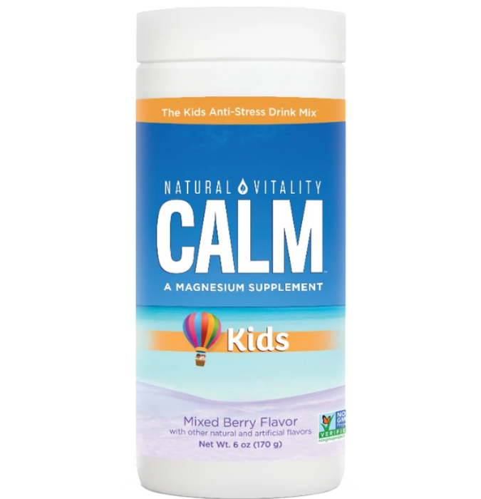 Natural Calm For Kids-Mixed Berry Flavor, 6 oz