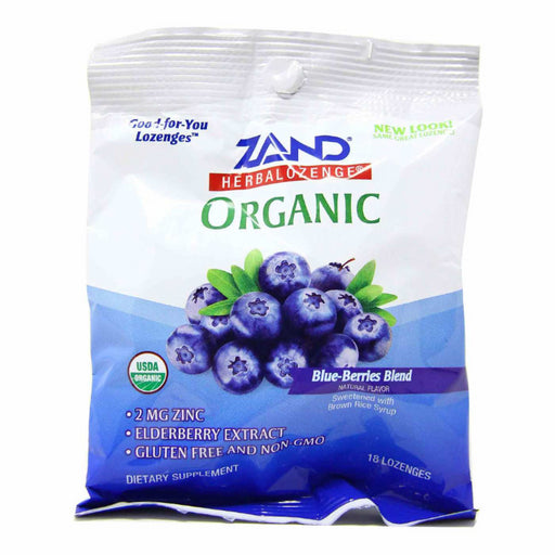 Organic HerbaLozenge - Blue-Berries Blend, 18 Lozenges