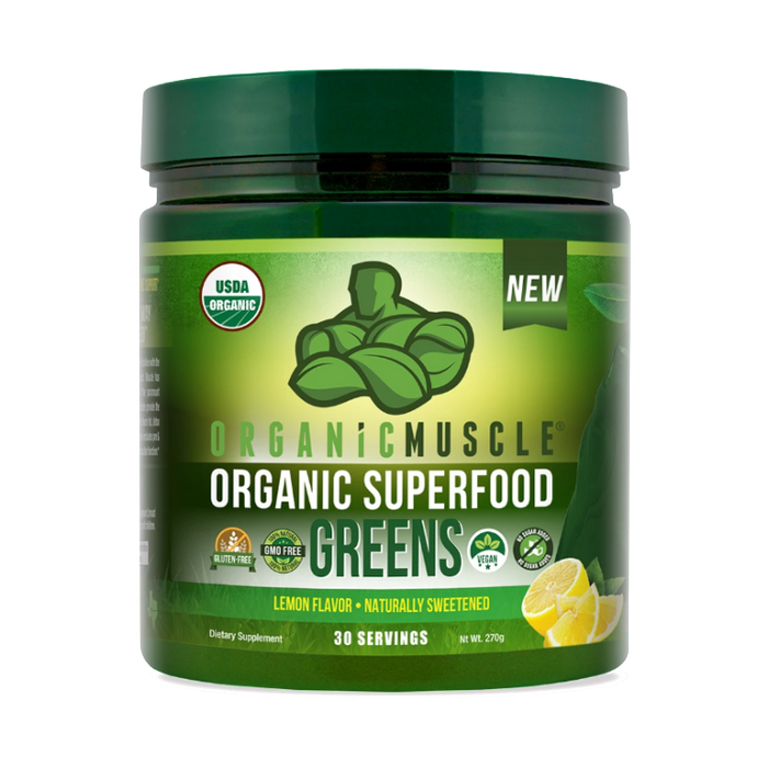Organic Superfoods Greens-Lemon