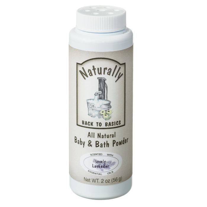 Lavender Baby Powder, 2 oz