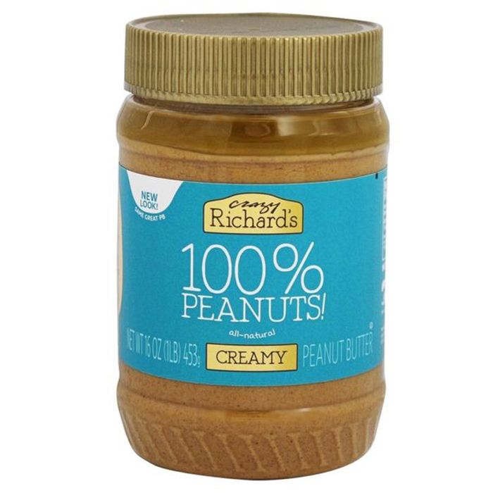 Natural Peanut Butter-Creamy, 16 oz