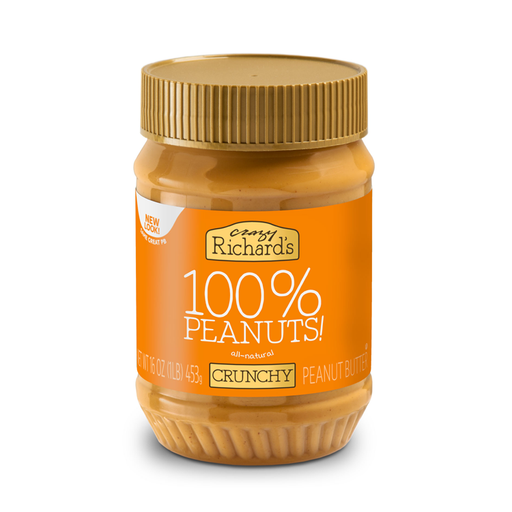 Natural Peanut Butter-Crunchy, 16 oz