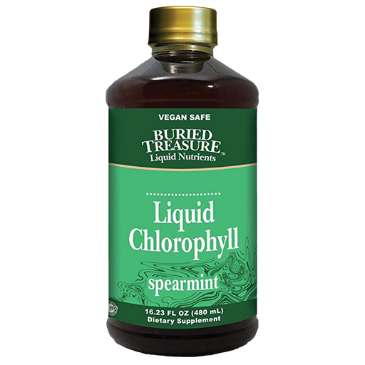 Liquid Chlorophyll-Spearmint, 16 oz