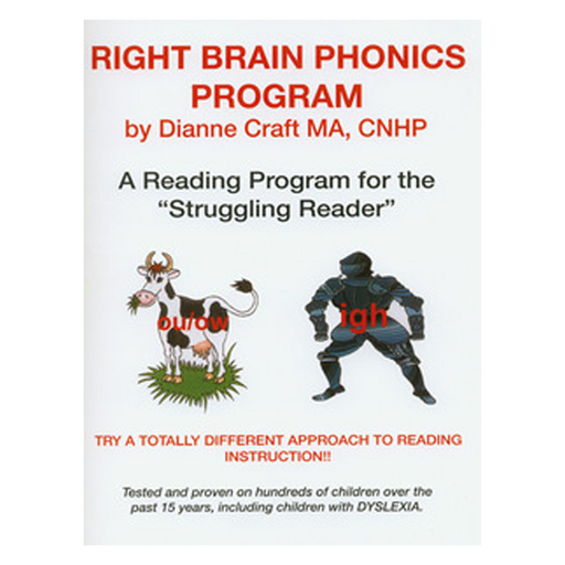 The Right Brain Phonics Reading Book