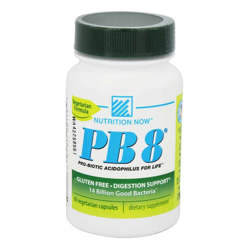 PB 8 Pro-Biotic Acidophilus For Life - 60 Vegetarian Capsules