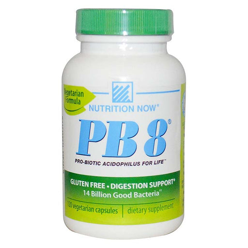 PB 8 Pro-Biotic Acidophilus For Life - 120 Vegetarian Capsules