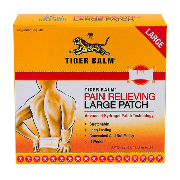 Tiger Balm Patch-Large, 4 ct