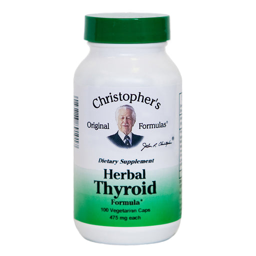 Herbal Thyroid Formula, 100 Capsules