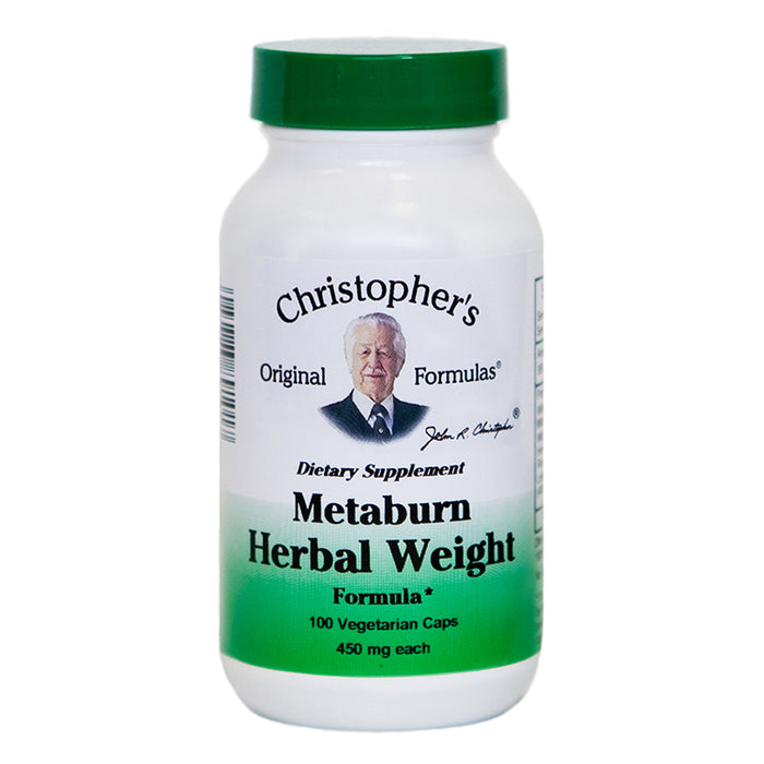 Metaburn Herbal Weight, 100 Capsules