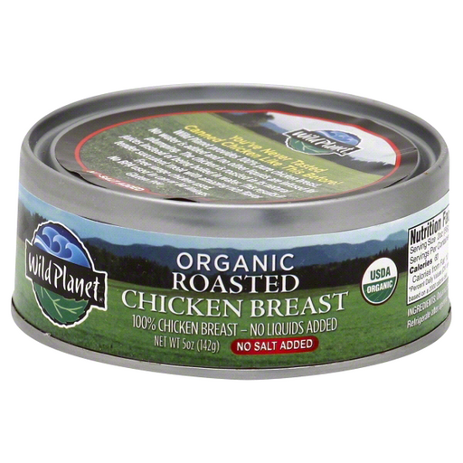 Canned Roasted Chicken Breast- Organic, 5 oz