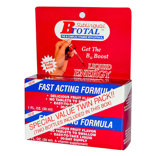B-TOTAL™, The Complex Vitamins with Extra B-12, 2 (1oz bottles)
