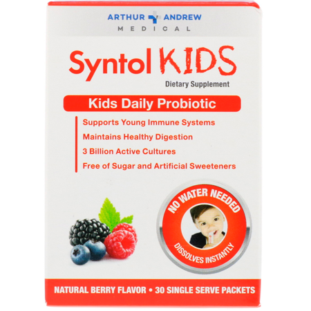 Syntol Kids Daily Probiotic, 30 ct