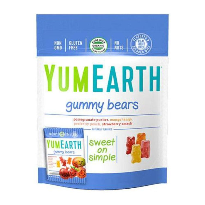 Organic Gummy Bears - Assorted Flavors, 2.5 oz.