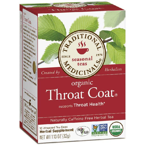 Organic Throat Coat, 16 Tea Bags