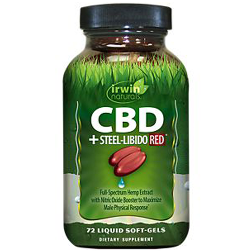 CBD + Steel Libido Red, 60 ct