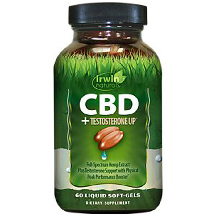 CBD + Testestrone UP, 60 ct