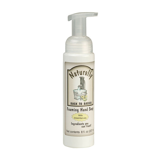Naturally Foaming Hand Soap, 8oz