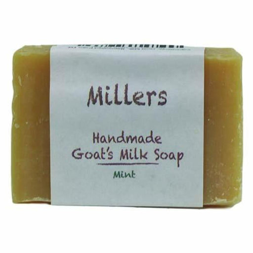 Millers Goat's Milk Soap -  Mint, 5oz