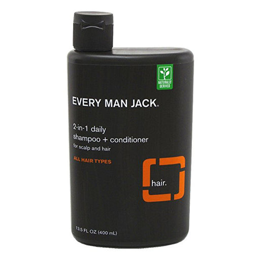 Mens 2 in 1 Shampoo & Conditioner- Daily Citrus 13.5oz